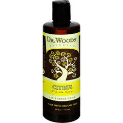 Dr. Woods Naturals Castile Liquid Soap - Citrus - 16 Fl Oz