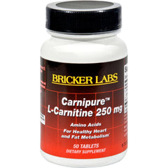 Bricker Labs Carnipure L-carnitine - 250 Mg - 50 Tablets
