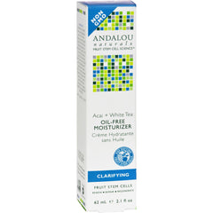 Andalou Naturals Tea Oil-free Moisturizer Acai Plus White - 2.1 Fl Oz