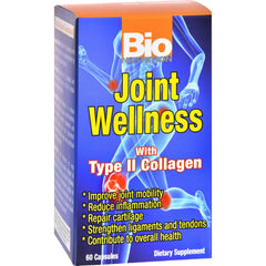 Bio Nutrition Joint Wellness - 60 Capsules