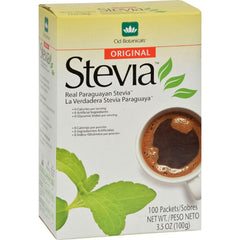 Cid Botanicals Stevia Original Packets - 3.5 Oz