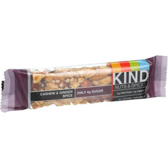 Kind Bar - Cashew And Ginger Spice - 1.4 Oz Bars - Case Of 12