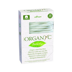 Organyc Beauty Cotton Swabs - 200 Pack