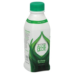 Aloe Gloe Crisp Aloe Organic Aloe Water - Case Of 12 - 15.2 Fl Oz.