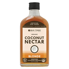 Big Tree Farms Coconut Nectar - Amber - Case Of 6 - 11.5 Fl Oz.