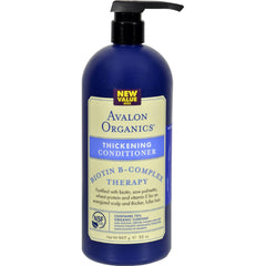Avalon Conditioner - Organic Biotin-b Complex - 32 Oz