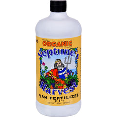 Neptune's Harvest Fish Fertilzer - Orange Label - 36 Oz