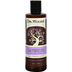 Dr. Woods Naturals Castile Liquid Soap - Lavender - 8 Fl Oz