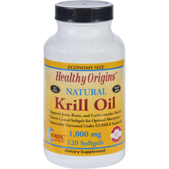 Healthy Origins Krill Oil - 1000 Mg - 120 Softgels