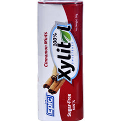 Epic Dental Mints - Cinnamon Xylitol Tin - 60 Ct - Case Of 10