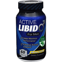 Fusion Diet Systems Active Libido - Men - 60 Capsules