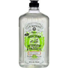 J.r. Watkins Dish Soap - White Tea And Bamboo - 24 Fl Oz