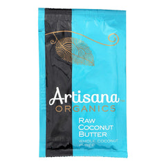 Artisana Organic Raw Coconut Butter - Squeeze Packs - 1.06 Oz - Case Of 10