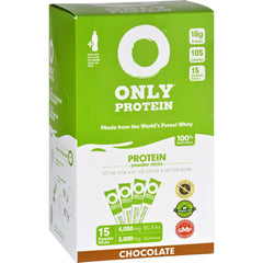 Only Protein Meal Replacement - Whey - Packets - Chocolate - 15 Count