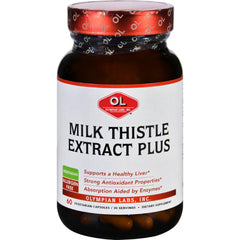 Olympian Labs Milk Thistle Extract - Plus - 60 Vegetarian Capsules
