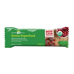 Amazing Grass Green Superfood Nutrition Bar - Original - Case Of 12 - 2.1 Oz.