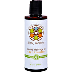 Baby Mantra Massage Oil - Calming - 4 Oz