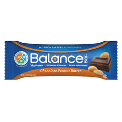 Balance Bar - Gold - Chocolate Peanut Butter - 1.76 Oz - Case Of 6