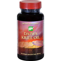 Daiwa Health Development Krill Oil - 500 Mg - 60 Softgels