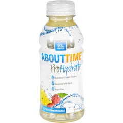 About Time Prohydrate - Raspberry Lemonade - 12 Oz