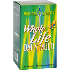 Natural Vitality Whole Life Daily Multi - 90 Capsules
