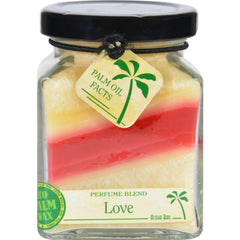 Aloha Bay Candle - Cube Jar - Perfume Blends - Love - 6 Oz