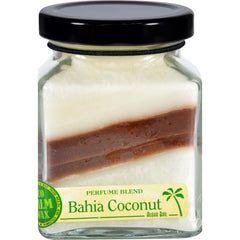 Aloha Bay Candle - Cube Jar - Perfume Blends - Bahia Coconut - 6 Oz