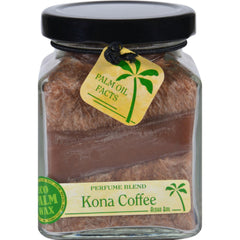Aloha Bay Candle - Cube Jar - Perfume Blends - Kona Coffee - 6 Oz