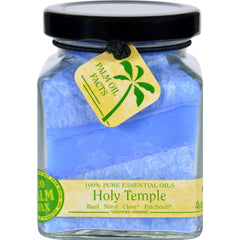 Aloha Bay Candle - Cube Jar - Pure Essential Oils - Holy Temple - 6 Oz