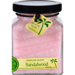Aloha Bay Candle - Cube Jar - Perfume Blends - Sandalwood - 6 Oz