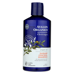 Avalon Damage Control Argan Oil Shampoo - Case Of 1 - 14 Oz.