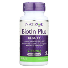 Natrol Biotin Plus With Lutein Capsules - Case Of 1 - 60 Count