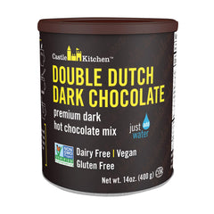Castle Kitchen Foods Hot Chocolate - Double Dutch Dark Chocolate - Case Of 6 - 14 Oz