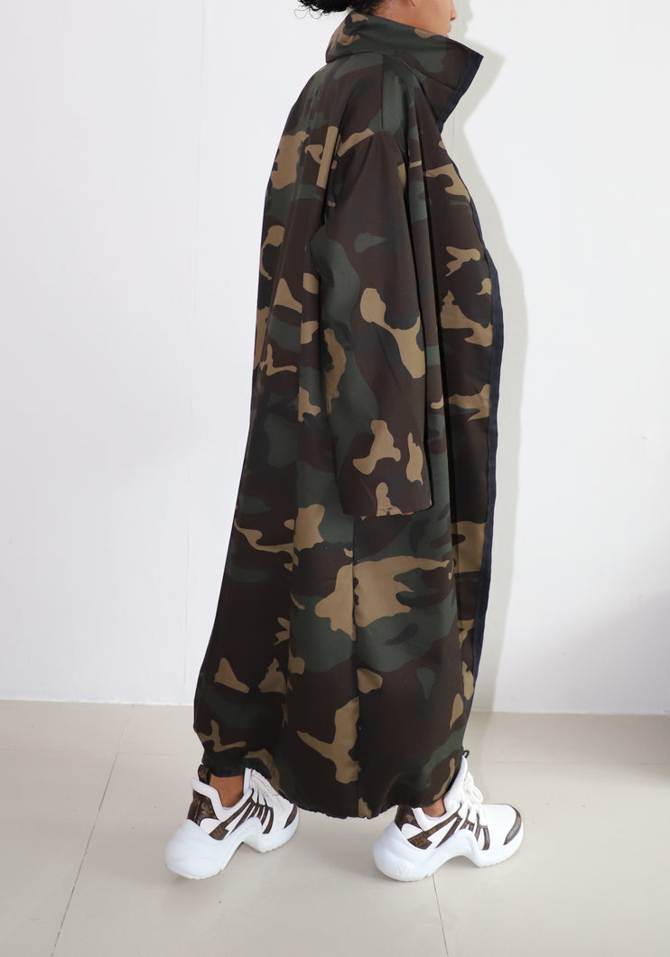 LONG CLASSIC CAMO JACKET
