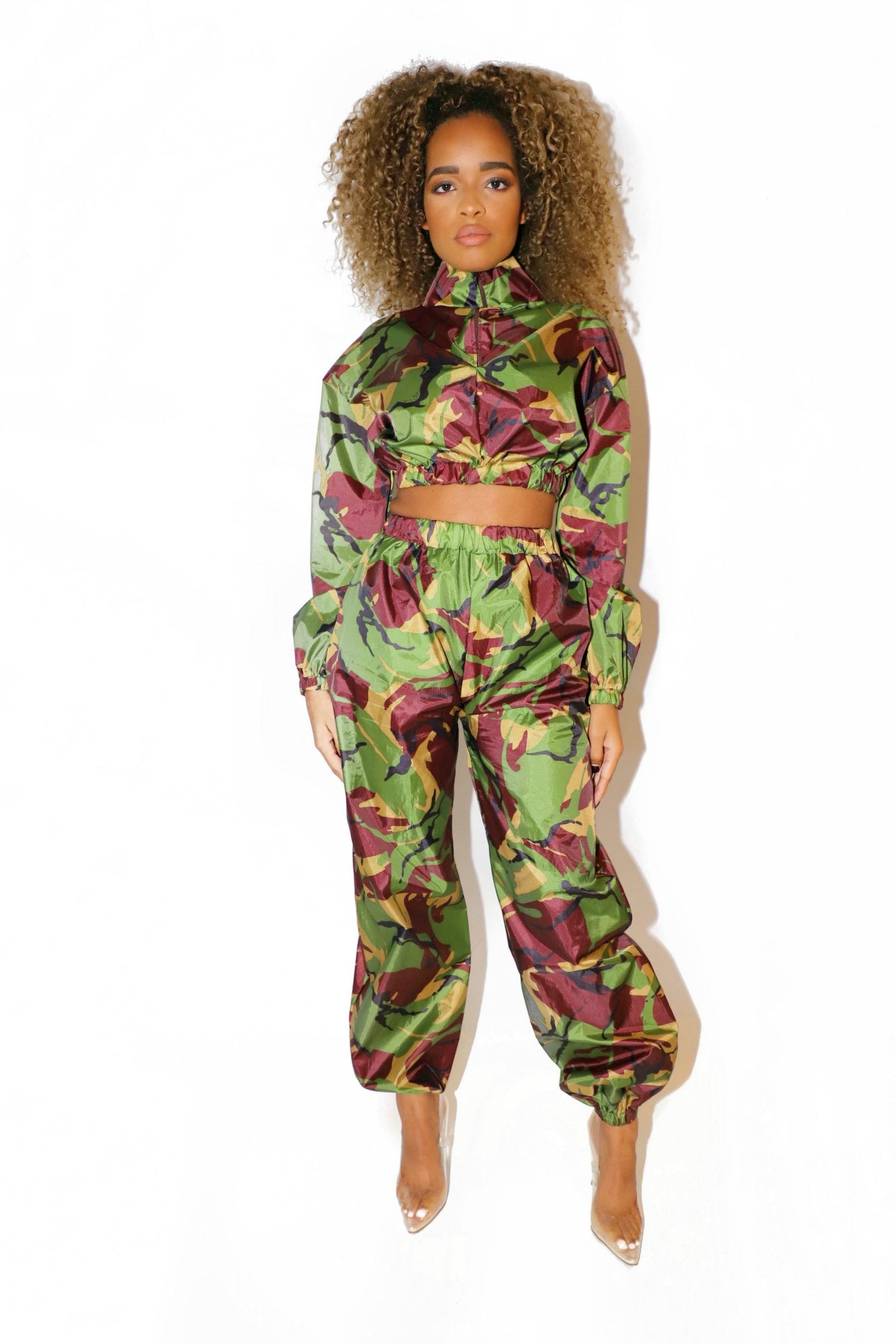 CAMO FLIGHT TRACKSUIT GREEN - VOLITION