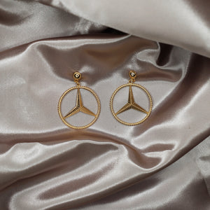 RIDER EARRINGS GOLD - VOLITION
