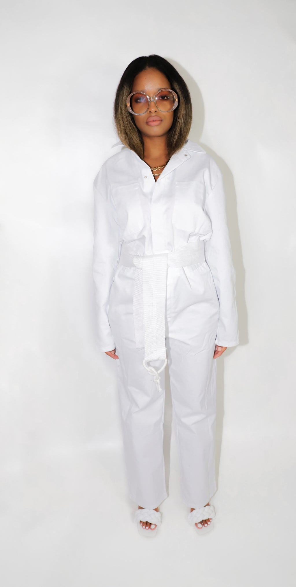 VOLITION JUMPSUIT WHITE