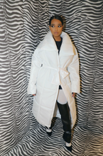 BROOKLYN PADDED LONG JACKET WHITE - VOLITION