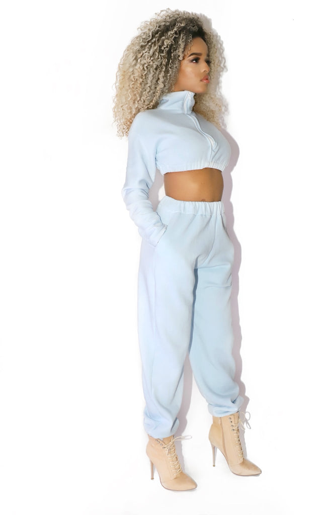 VOL TRACKSUIT BABY BLUE - VOLITION