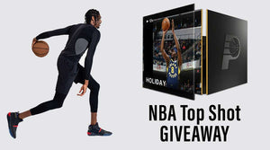 GIVEAWAY: WIN a Justin Holiday Top Shot NFT Moment