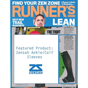 Zensah Ankle/Calf Sleeve featured in Runner's World