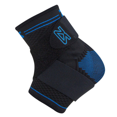znesah elite ankle sleeve with anatomical gel pads