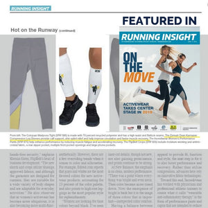 Zensah Dean Karnazes Sleeves featured in Running Insight magazine