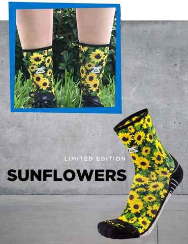 Zensah Limited Edition Sunflower socks