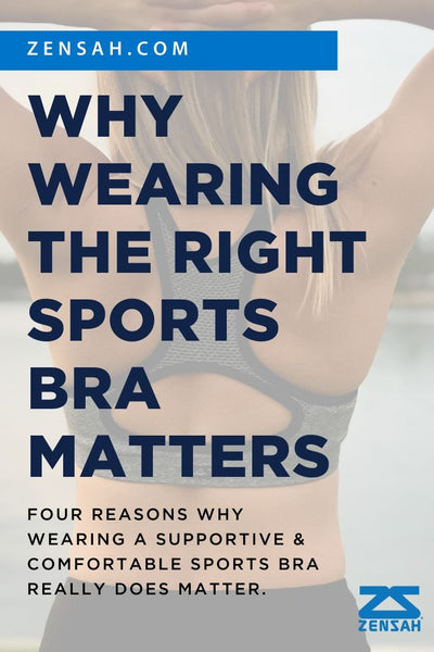 zensah why wearing the right running sports bra matters