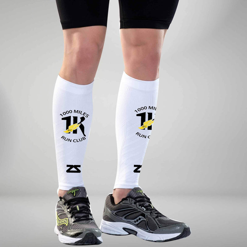 1000 Miles Run Club Compression Leg Sleeves