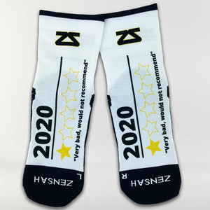 2020 Bad Reviews Socks (Mini-Crew)