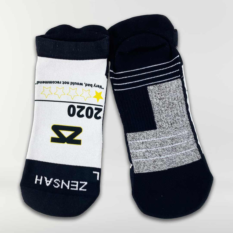 2020 Bad Reviews Running Socks (No Show)