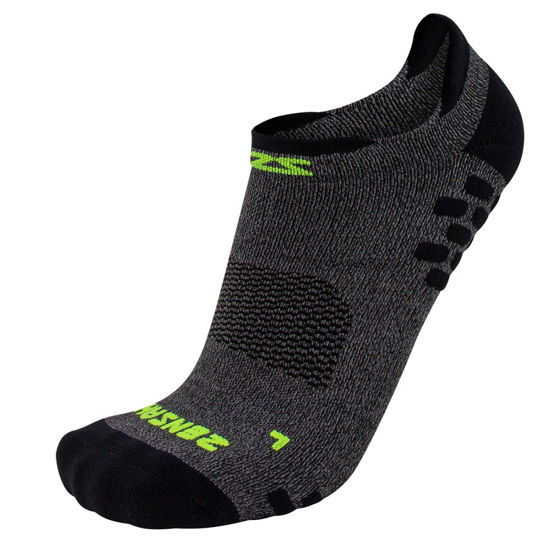 3D Dotted No-Show Running Sock