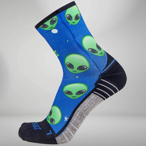 Aliens Socks (Mini Crew)Socks - Zensah